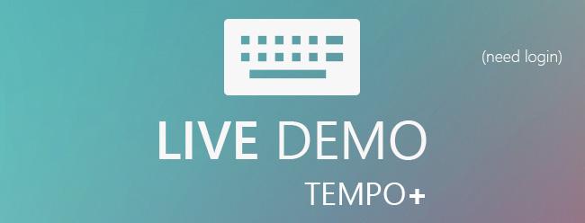 Free Live demo of Tempo +
